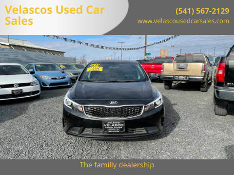 2017 Kia Forte for sale at Velascos Used Car Sales in Hermiston OR