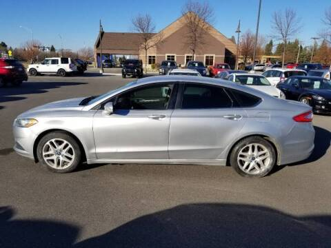 2014 Ford Fusion for sale at ROSSTEN AUTO SALES in Grand Forks ND
