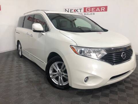2012 Nissan Quest for sale at Next Gear Auto Sales in Westfield IN