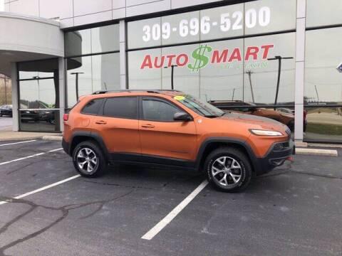 2016 Jeep Cherokee for sale at Auto Smart of Pekin in Pekin IL