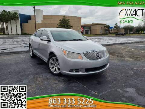 2011 Buick LaCrosse for sale at Exxact Cars in Lakeland FL