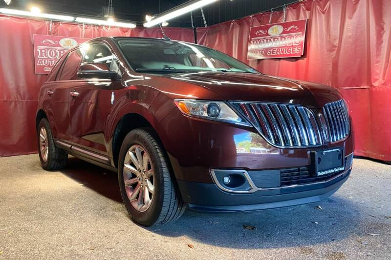 2012 Lincoln MKX for sale at Roberts Auto Services in Latham NY