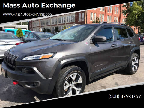 2014 Jeep Cherokee for sale at Mass Auto Exchange in Framingham MA