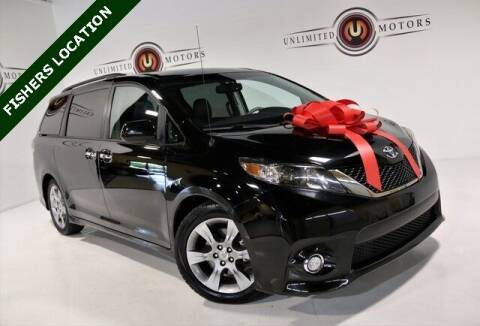 2013 Toyota Sienna for sale at Unlimited Motors in Fishers IN