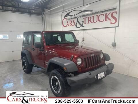 2010 Jeep Wrangler for sale at Idaho Falls Cars and Trucks in Idaho Falls ID
