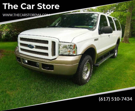 2005 Ford Excursion for sale at The Car Store in Milford MA