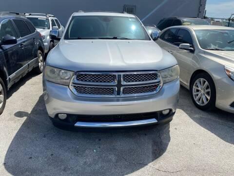 2012 Dodge Durango for sale at America Auto Wholesale Inc in Miami FL