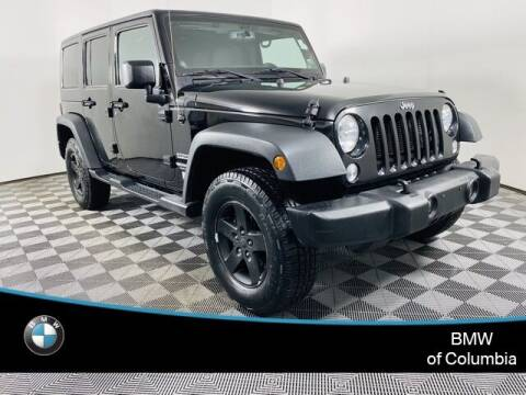 2014 Jeep Wrangler Unlimited for sale at Preowned of Columbia in Columbia MO