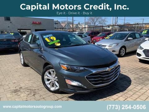 2019 Chevrolet Malibu for sale at Capital Motors Credit, Inc. in Chicago IL