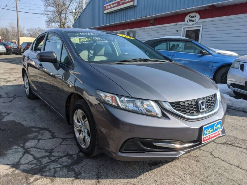 2014 Honda Civic for sale at Peter Kay Auto Sales in Alden NY