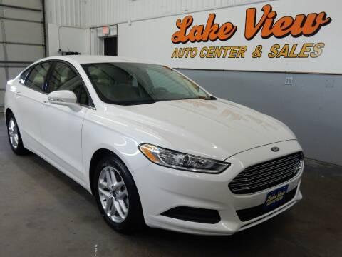 2014 Ford Fusion for sale at Lake View Auto Center in Oshkosh WI