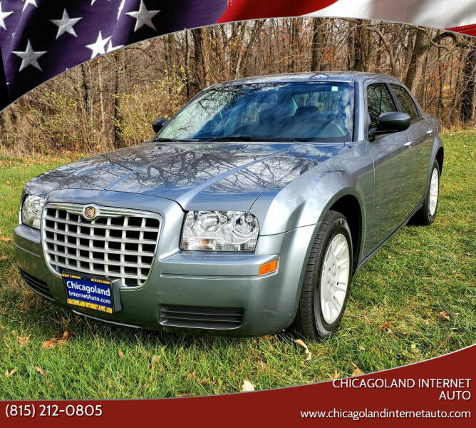 2007 Chrysler 300 for sale at Chicagoland Internet Auto - 410 N Vine St New Lenox IL, 60451 in New Lenox IL
