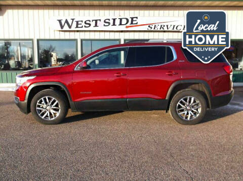 2019 GMC Acadia for sale at West Side Service in Auburndale WI