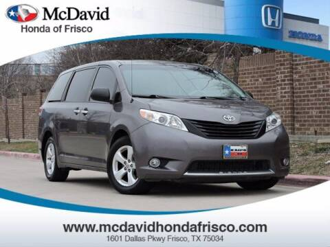 2014 Toyota Sienna for sale at DAVID McDAVID HONDA OF IRVING in Irving TX