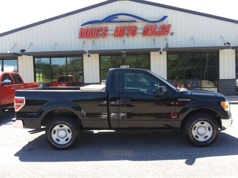 2009 Ford F-150 for sale at DOUG'S AUTO SALES INC in Pleasant View TN