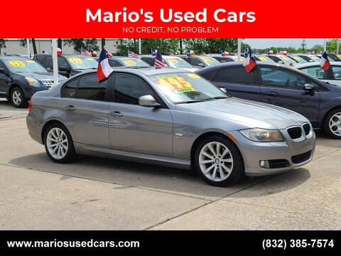 2011 BMW 3 Series for sale at Mario's Used Cars in Houston TX