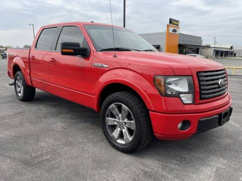 2012 Ford F-150 for sale at Lipscomb Powersports in Wichita Falls TX