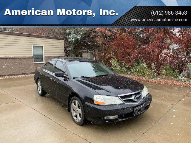 2003 Acura TL for sale at American Motors, Inc. in Farmington MN