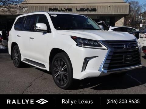 2018 Lexus LX 570 for sale at RALLYE LEXUS in Glen Cove NY