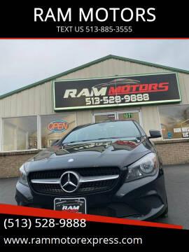 2014 Mercedes-Benz CLA for sale at RAM MOTORS in Cincinnati OH