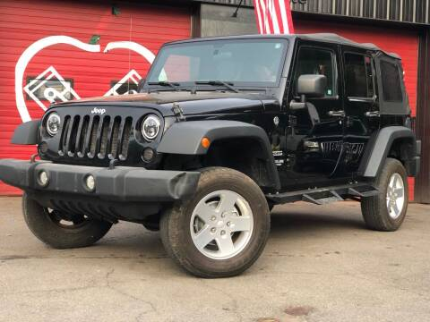2012 Jeep Wrangler Unlimited for sale at Apple Auto Sales Inc in Camillus NY