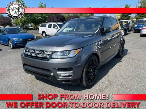 2017 Land Rover Range Rover Sport for sale at Auto 206, Inc. in Kent WA