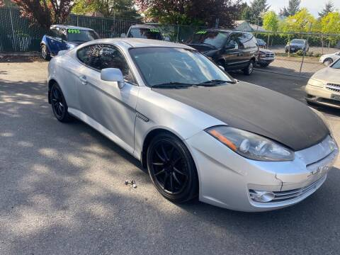 2008 Hyundai Tiburon for sale at Blue Line Auto Group in Portland OR