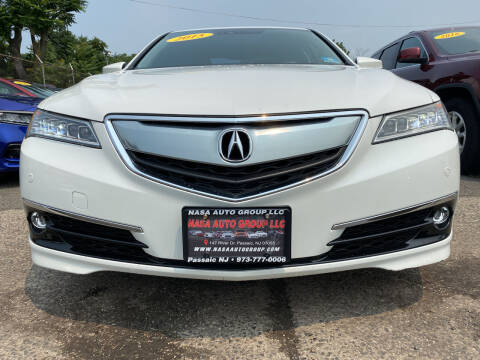 2015 Acura TLX for sale at Nasa Auto Group LLC in Passaic NJ