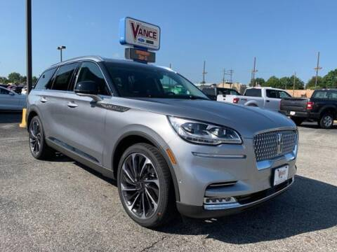 2020 Lincoln Aviator for sale at Vance Fleet Services in Guthrie OK