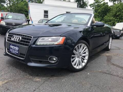 2011 Audi A5 for sale at Certified Auto Exchange in Keyport NJ
