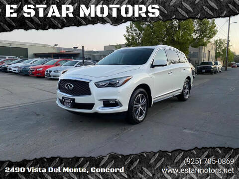 2017 Infiniti QX60 for sale at E STAR MOTORS in Concord CA