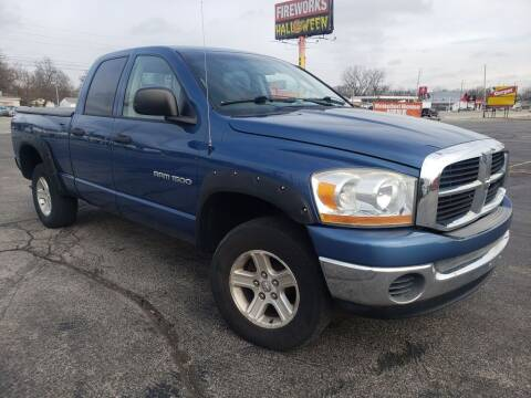 2006 Dodge Ram Pickup 1500 for sale at speedy auto sales in Indianapolis IN