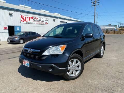 2008 Honda CR-V for sale at SUPER AUTO SALES STOCKTON in Stockton CA