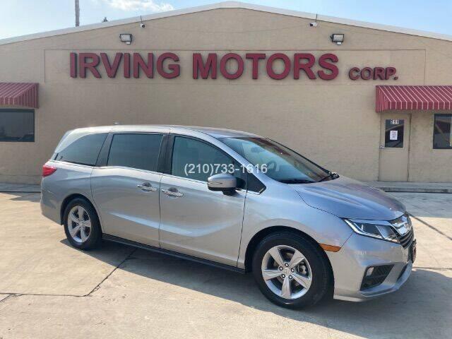 2018 Honda Odyssey for sale at Irving Motors Corp in San Antonio TX