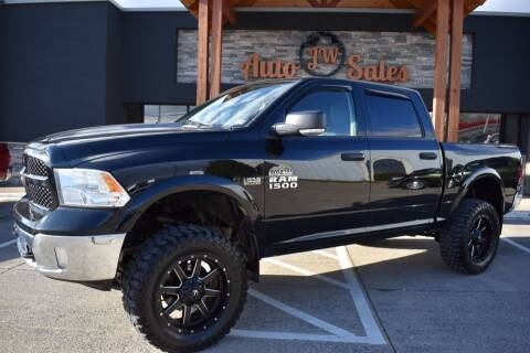 2013 RAM Ram Pickup 1500 for sale at JW Auto Sales LLC in Harrisonburg VA