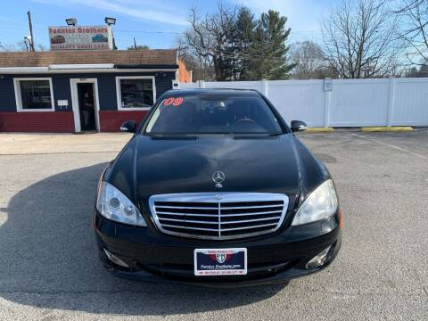 2009 Mercedes-Benz S-Class for sale at Fuentes Brothers Auto Sales in Jessup MD