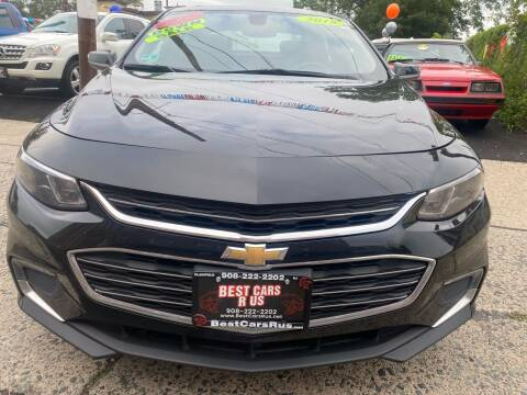 2018 Chevrolet Malibu for sale at Best Cars R Us in Plainfield NJ