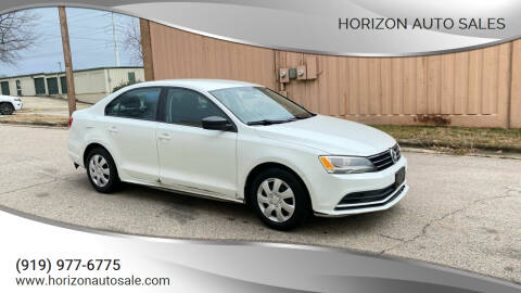 2015 Volkswagen Jetta for sale at Horizon Auto Sales in Raleigh NC