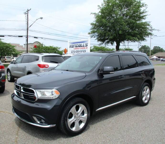 2014 Dodge Durango for sale at Kendall's Used Cars 2 in Murray KY