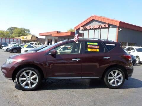 2013 Nissan Murano for sale at Super Service Used Cars in Milwaukee WI