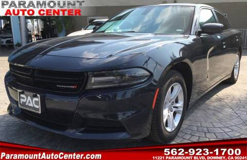 2019 Dodge Charger for sale at PARAMOUNT AUTO CENTER in Downey CA