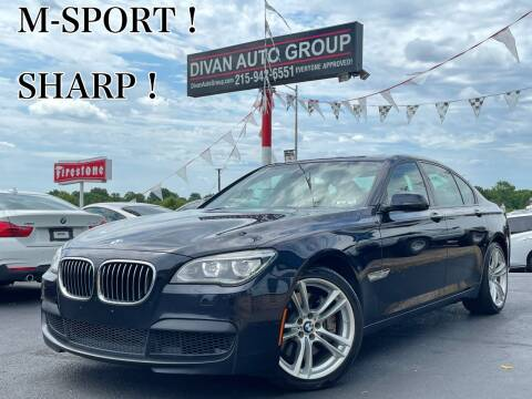 2014 BMW 7 Series for sale at Divan Auto Group in Feasterville Trevose PA