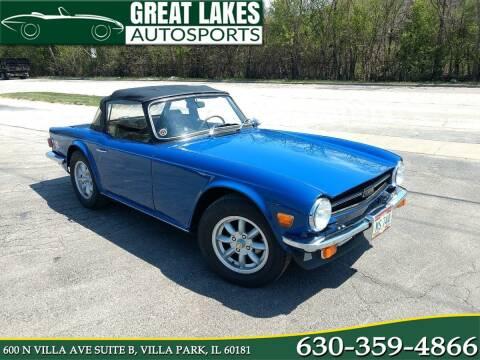 1976 Triumph TR6 for sale at Great Lakes AutoSports in Villa Park IL