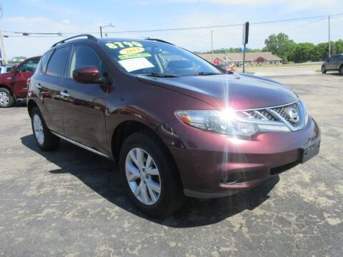 2013 Nissan Murano for sale at Fox River Motors, Inc in Green Bay WI