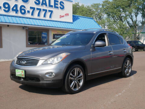2011 Infiniti EX35 for sale at B & D Auto Sales Inc. in Fairless Hills PA