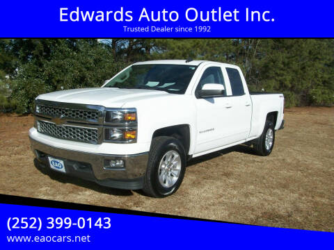 2015 Chevrolet Silverado 1500 for sale at Edwards Auto Outlet Inc. in Wilson NC