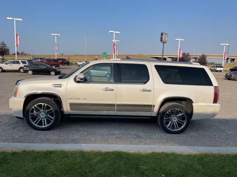 2012 Cadillac Escalade ESV for sale at GILES & JOHNSON AUTOMART in Idaho Falls ID
