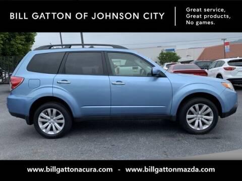 2012 Subaru Forester for sale at Bill Gatton Used Cars - BILL GATTON ACURA MAZDA in Johnson City TN
