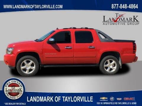 2012 Chevrolet Avalanche for sale at LANDMARK OF TAYLORVILLE in Taylorville IL