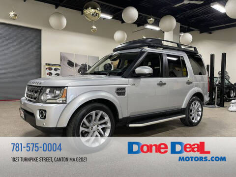 2016 Land Rover LR4 for sale at DONE DEAL MOTORS in Canton MA